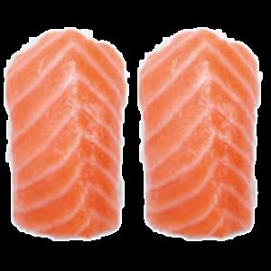 2 nigiri salmon