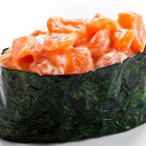 Salmon Tatar Gunkan
