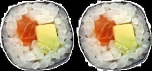 2 Hosomaki Salmon