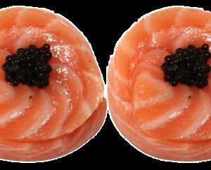 2 Salmon Rose