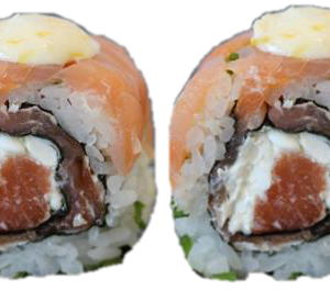 2 Double Salmon Roll