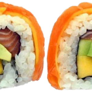 2 Salmon Mango Roll